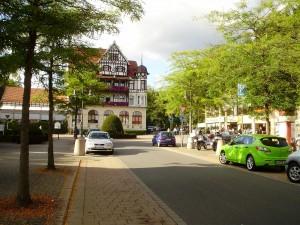 Typisches Fachwerkhaus als Hotel in Bad Sachsa